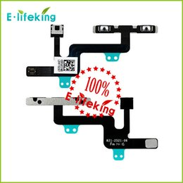 Wholesale Volume Control Button Mute Flex Cable Ribbon Replacement For Iphone and Plus