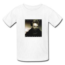 Wholesale Custom BRYAN ADAMS RECKLESS Music Star Printed T Shirts Mens Boy Cotton Short Sleeve Boy Male Man T Shirts M XXXL