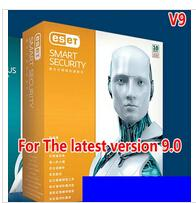 Wholesale NOD32 Smart security9 nactive2year10pcs10 user multi lingual full featured package can activate ESET NOD32 Antivirus vers