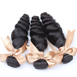 Brazilian Hair Bundles Mink Hair Remy Human Hair Weaves Virgin Unprocessed Top Quality Natural Color Double Weft Loose Wave Bellahair
