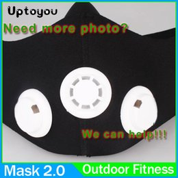Wholesale Mask High Altitude Simulation Mask Crossfit Yoga Fitness Fitness Equipment Training ourdoor Equipment