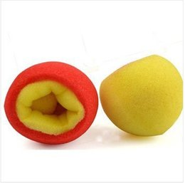 Wholesale-Free shipping color change sponge ball for 5pcs magic tricks magic props