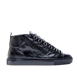 Wholesale Multi brand genuine leather man sneakers sports bal enci ga High top men s shoes size