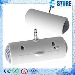 Wholesale 3 mm mini Portable Stereo Speaker For MP3 Player Mobile Phone Amplifier Loudspeaker High Quality
