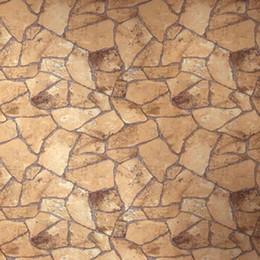 Fond d'écran d'ardoise en Ligne-papier peint effet 10M rouleau fond papier vintage classique pierre naturelle mur de briques pierre d'ardoise mur de pvc de décoration