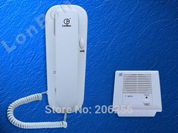 Wholesale Embedded Wired Intercom Kit LB A Parking one point guard on duty office wall embedded intercom call Suitable for home office