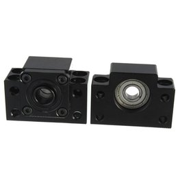 Wholesale Fixed Side BK12 And Floated Side BF12 Ballscrew End Supports SOZ Bearing block order lt no track