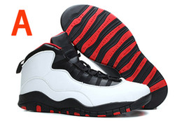 Wholesale 10 Zapatos Aire Retro X baloncesto de los hombres Double Nickel Chicago atléticos zapatos de la señora Liberty zapatillas de deporte para los hombres toros calzado deportivo zapatos al aire libre