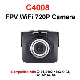 Promotion drones de caméras aériennes MJX C4008 FPV 720P Temps réel aérienne caméra WIFI Caméra X101 X102 X103 X600 X400 RC Drone Avion