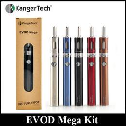 Original KangerTech EVOD MEGA Kit 1900mAh Kanger Cheapest Starter Kit Electronic Cigarette Vape Pen Kit 100% Original In Stock