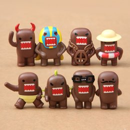 Wholesale 8PCS Domo Kun Qee Action Figure Collectibles New