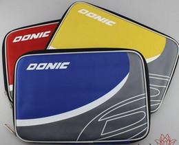 Wholesale BEST Donic table tennis ball square sets single tier set ball set threecolor racket bag box
