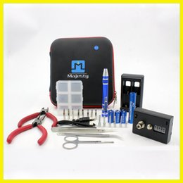 RDA Building Tool Kit Rebuildable Atomizer RDA RBA Tool Kit WITH Coil Wrapping Jig Tools Set Vape