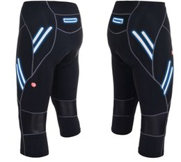 Wholesale-Summer Style NEW Outdoor Sports Pants Mens Cycling Shorts Bike Pants Bicycle Cycling Clothing 3D Padded Short Pants Breathable
