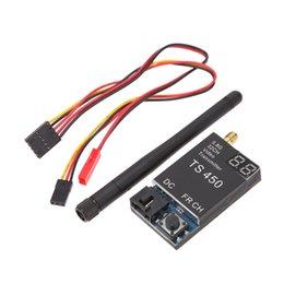 2017 vidéo rc Nouveau 450m TS450 de 5.8G W 32 canaux sans fil HD FM Video Module émetteur pour FPV RC Quadcopter commander 18Personne $ piste peu coûteux vidéo rc
