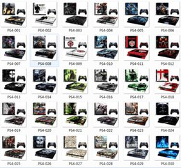 Wholesale Skins for PS4 Console and Controllers by DHL Various patterns for You to Choose