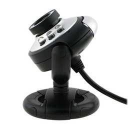 Wholesale USB PC Webcams Web Camera LED Night Vision MSN ICQ AIM Skype Net Meeting Fast Shipping