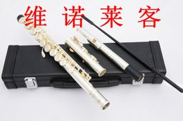 Manufacturers supply produce silver-plated flute C tone obturator 16 key E key division