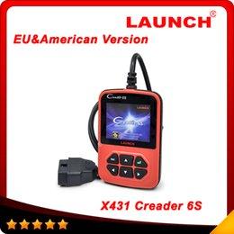 Wholesale 2016 OBD2 Scanner Launch X431 Creader VI Plus Code Reader Original Launch Creader S European American version