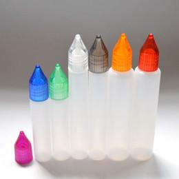 10ml 15ml 30ml E Liquid Plastic Dropper Bottles with Colorful Caps Dropper Empty Pen Style Bottle