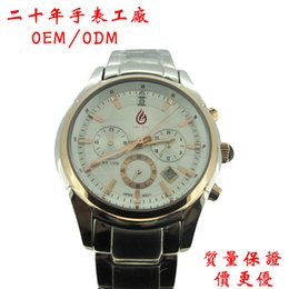 Wholesale Professional surplus watches and clocks made of high grade steel watches three eye six pin Guests can custom requirements