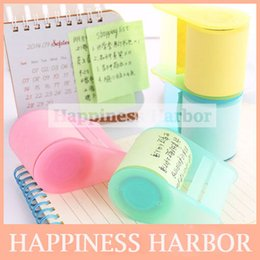 Wholesale New Korean Stationery Colorful Sticky Paper Post It Note Memo Pad Novelty Items School Office Supplies Articulos De Papeleria