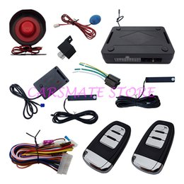 Wholesale High Quality Hopping Code Car Smartkey PKE Alarm System With PKE Passive Keyless Entry Automatic Owner Identify Power Window Output