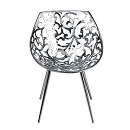 Wholesale Best popular furniture famous designer leisure chair silvery the Driade Miss Lacy Chair