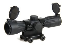 Wholesale Hot Sale X32 TS Platform Mini Rubber Armored Tactical Scope with Mil Dot For Hunting CL1
