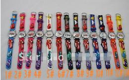 Wholesale Color available Car D Child Quart Wrist watches pixar Children watch Kid s Gift