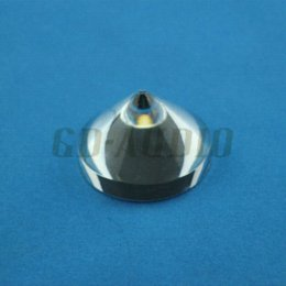Wholesale 4PCS Crystal Clear Amplifier Spike Turntable CD Player Speaker DAC DVD Computer Cabinet Feet x25mm