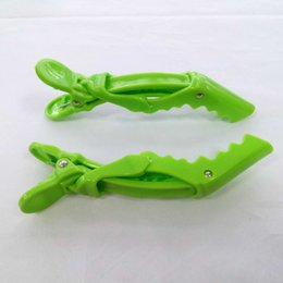 Plastic Hair Clip Pink Salon Alligator Hair Clips Barrettes Accessories Wholesale ABS Smooth Black Green Color