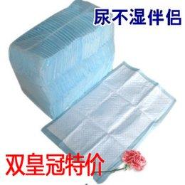 Wholesale Blue large size Urine pad adult diaper Disposable nursing pad puerperal adult urine bed mat X90cm