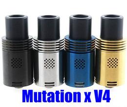 Mutation X V4 RDA Atomizer update mutation x v4 rda AirFlow Control Tank 22mm Stainless steel ATB153