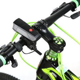 Wholesale Strong Ultra Loud Cycling Horns Electronic Bike Bicycle Handlebar Ring Horn Air Alarm Bell Sound accesorios bicicleta Promotion Y1546