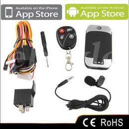 New GPS 303D GPS Tracker Vehicle Car GPS GSM GPRS SMS Remote Control Fuel Sensor Real-time Phone Tracking Q4023A