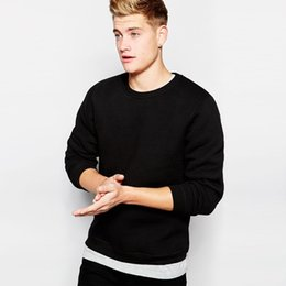 Wholesale-Free shipping hot Winter NEW Men's O-Neck polo Sweater thick fleece solid color sweater Cardiga Size:!! S M, L, XL, XXL