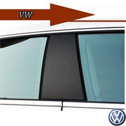 Wholesale VW passat cc Changing color sticker carbon fiber modified carbon fiber sticker ABC column piece
