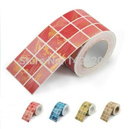 Wholesale PVC self adhesive Mosaic wallpaper wall listello kitchen stickers waist line waterproof border crural line