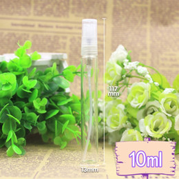 wholesale 100pcs lot 10ML Glass Perfume Bottle,10cc Refillable Fragrance Perfume Atomizer,Glass Sprayer Bottle