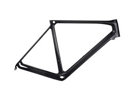 Wholesale HOHANG quality product H R FCM042 DIY painting new carbon fiber frame bike breaking wind design T800 carbon cloth OPM OEM OBM