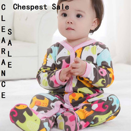 Clearance Sale Baby Boys Romper Top Quality Brand Baby Girl Jumpsuit 0-12Month Cheapest Baby Clothes Long Sleeve Pajamas Rompers