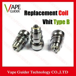 Wholesale Vhit Type B C Coils Vhit Type C Coil Head Wax Atomizer Metal Replacement Core Vhit Type B Coils For Vhit Tape B C Atomizer Ego Vaporizer