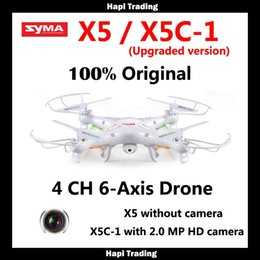 Syma X5C-1 (Upgrade version Syma x5c ) Quadcopter Drone With Camera or Syma X5-1 (Upgrade syma x5 ) rc helicopter without camera