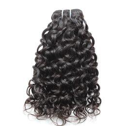 Brazilian Hair Bundles Remy Virgin Human Hair Weaves Extensions Double Weft 7A Mink Hair Water Wave Bellahair