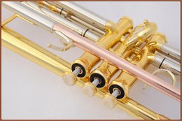 Wholesale New Bach Trumpet TR three color small series of brass instruments cupronickel in section inventory Bb trumpet