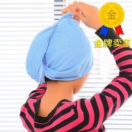 Wholesale Microfiber dry hair cap thickening Japan Kuaisuganfa cap super absorbent towel dry hair