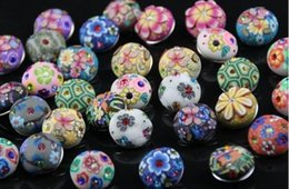 new 20pcs lot mix designs polymer clay NEW Women 18mm Snap It press button Charm Fit Snaps Style leather Bracelets Free ship