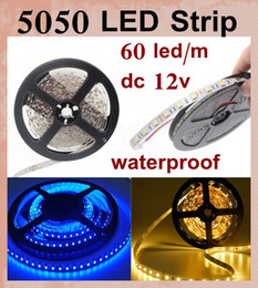 led strips RGB 5050SMD LED light strip IP65 Waterproof 300 leds DC 12V 5050 rgb led vs 5m 60leds m waterproof smd 3258 led strip light DT014