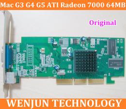 Wholesale Original forMac G3 G4 G5 graphic card ATI Radeon MB AGP Video Card VGA X X X order lt no track